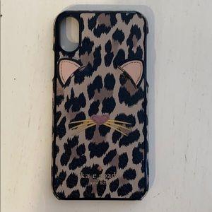 Kate spade leopard iPhone 10 case